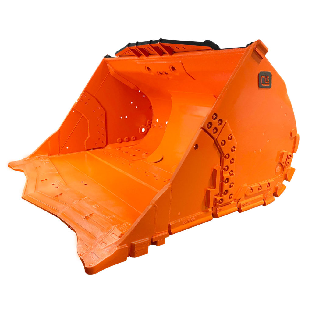 Orange Underground LHD Bucket