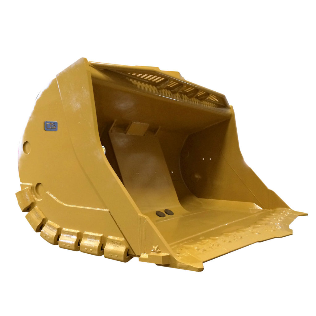 yellow rock bucket